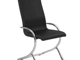 CLEAR SEAT - chaises boreal noires lot de 4 - Empfangssessel