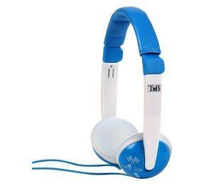 TNB - casque enfant kids sound - blanc/bleu - Kopfhörer