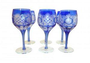 Demeure et Jardin - set de 6 verres - Stielglas