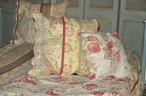 Demeure et Jardin - taie d'oreiller imprimé cachemire - Kissen Quadratisch