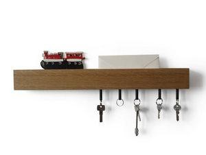 DESIGNOBJECT.it - rail key hanger - Schlüsselbrett
