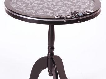 RELOADED DESIGN - mini table silver dragons medium - Beistelltisch