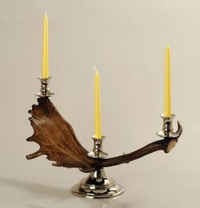 CLOCK HOUSE FURNITURE - candlestick, horizontal fallow - Kerzenständer