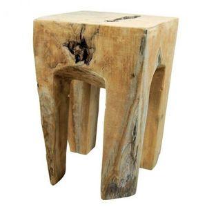 Mathi Design - tabouret bois racine - Hocker