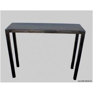 Mathi Design - console en acier brut style industriel - Konsolentisch