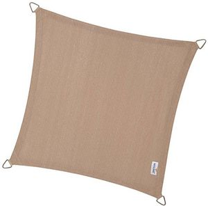 NESLING - voile d'ombrage carrée coolfit sable - Schattentuch