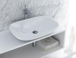 CasaLux Home Design - clear 66-- - Waschbecken Freistehend