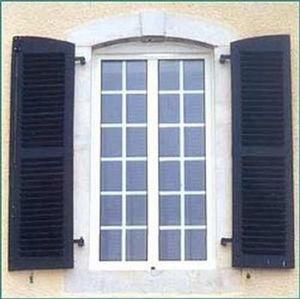 Wicona - wiccosy - Klapp Lamellenfensterläden