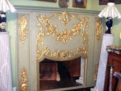 Grand Papa Antiquites -  - Trumeauspiegel