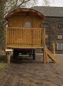 ROULOTTE-HABITAT -  - Holzwohnwagen