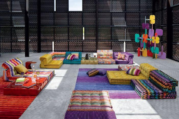 Mah jong variables sofa mehrfarbig roche bobois decofinder