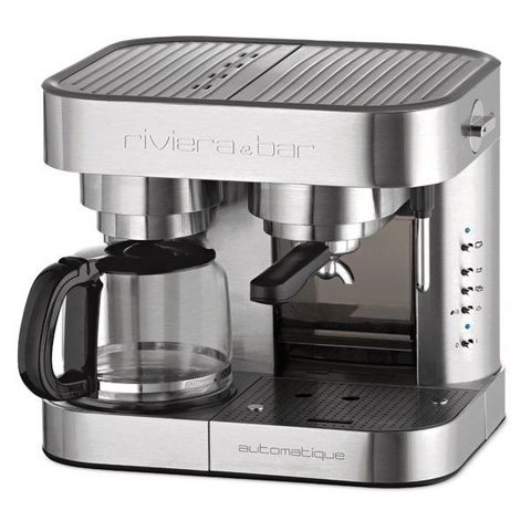 RIVIERA & BAR - Filterkaffee-Espresso-Maschinenkombination-RIVIERA & BAR