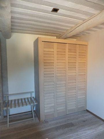 JASNO - Schrank mit Stoffvorhang-JASNO-Porte Persienne