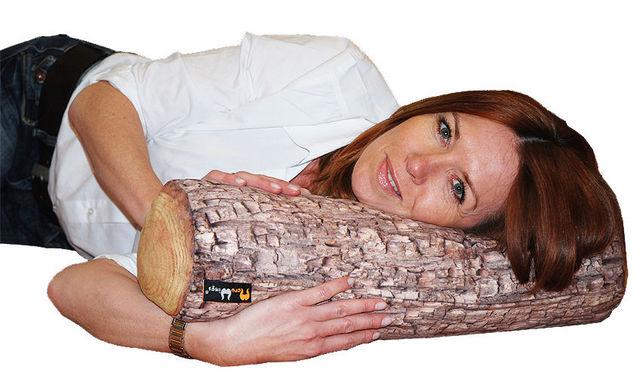 MEROWINGS - Kissen unkonventionell-MEROWINGS-Forest Tree Log Indoor