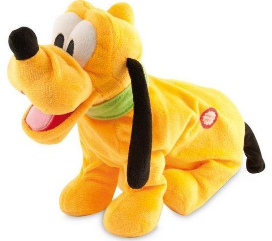 IMC TOYS - Stofftier-IMC TOYS-Peluche Pluto joyeux