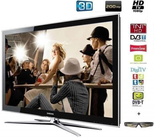 Samsung - LCD Fernseher-Samsung-SAMSUNG TLVISEUR LCD LE40C750 - 3D