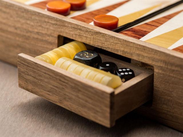 WOOD AND MOOD - Backgammon-WOOD AND MOOD-The Dome