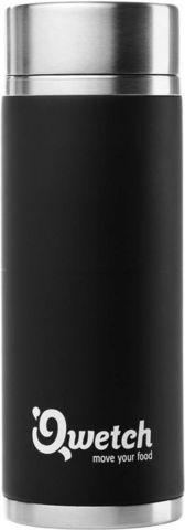 QWETCH - Thermostasse-QWETCH-Mug isotherme noir en acier noir 300ml