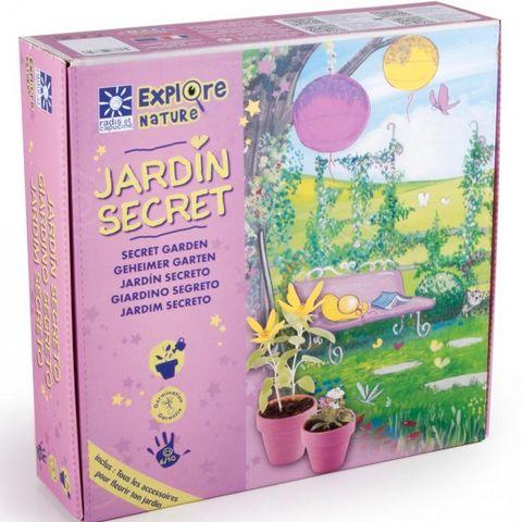 Radis Et Capucine - Gartenarbeit-Kit-Radis Et Capucine-Le coffret Mon jardin secret pour les filles