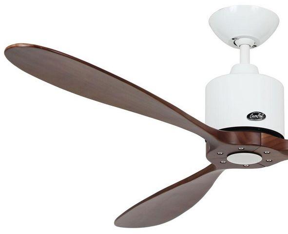 Casafan - Deckenventilator-Casafan-Ventilateur de plafond DC, moderne 132 Cm blanc la