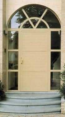 Reynaers Alunion - Eingangsglastür-Reynaers Alunion-Hifi
