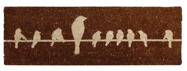 BEST FOR BOOTS - Fussmatte-BEST FOR BOOTS-Paillasson Oiseaux en Fibre de coco Marron