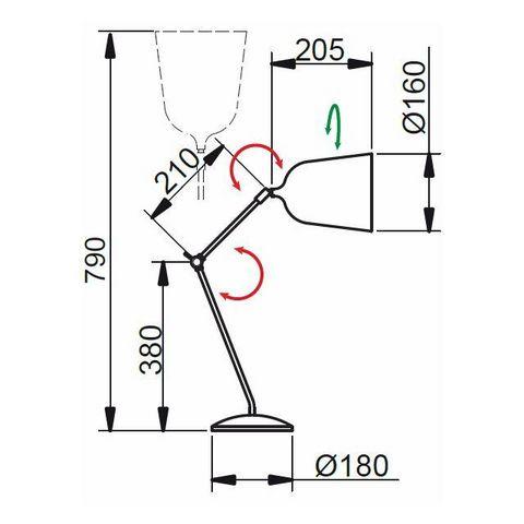 Aluminor - Schreibtischlampe-Aluminor-MEKANO
