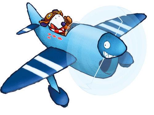 DECOLOOPIO - Kinderklebdekor-DECOLOOPIO-Bali Avion