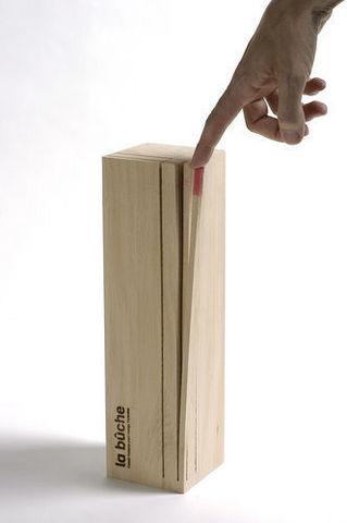 Design Pyrenees Editions - Dichtes Holzscheit-Design Pyrenees Editions-bûche