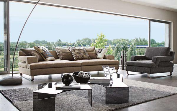 ROCHE BOBOIS - Sofa 4-Sitzer-ROCHE BOBOIS-Trésors