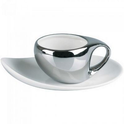 La Chaise Longue - Kaffeetasse-La Chaise Longue-Tasses design + sous-tasses Party time (X2)