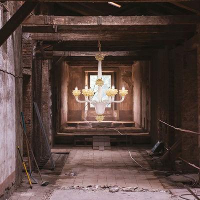 MULTIFORME - Kronleuchter Murano-MULTIFORME-DIAMANTE