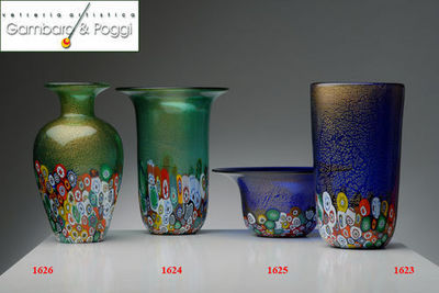Gambaro & Poggi Murano Glass - Vasen-Gambaro & Poggi Murano Glass-ECONOMICO