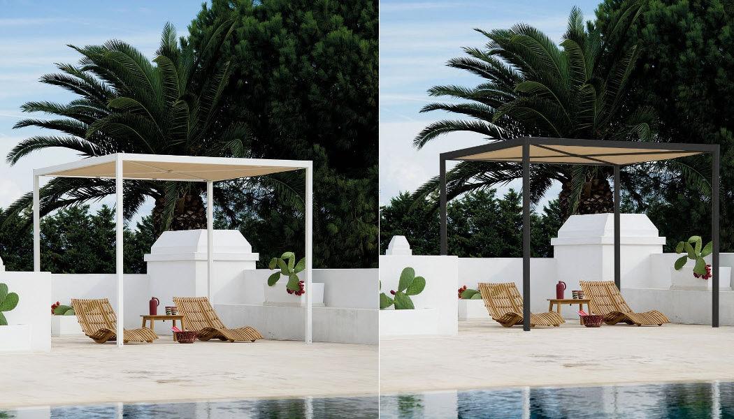 Unopiù Cubierta para terraza Sombrillas y estructuras tensadas Jardín Mobiliario  |