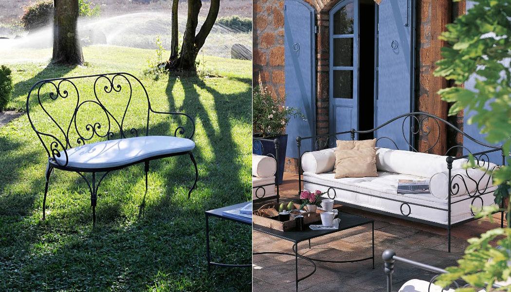 Unopiù Sofá para jardín Salones completos de jardín Jardín Mobiliario  |