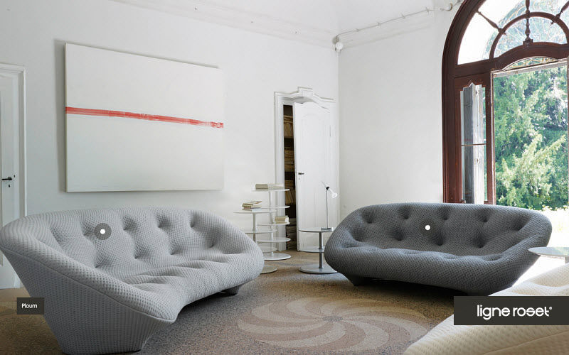 Ligne Roset Sofá 2 plazas Sofás Asientos & Sofás Salón-Bar | Design Contemporáneo