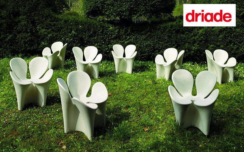 DRIADE Silla de jardín Sillas de jardín Jardín Mobiliario  |