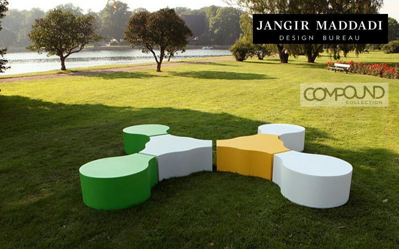JANGIR MADDADI Banco de jardín Bancos Jardín Mobiliario  |