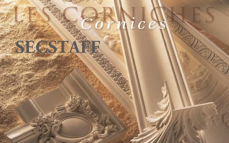 SECSTAFF Cornisa Piezas y/o elementos arquitectónicos Ornamentos  |