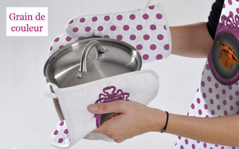 Grain De Couleur Manopla Textil Cocina Accesorios  |