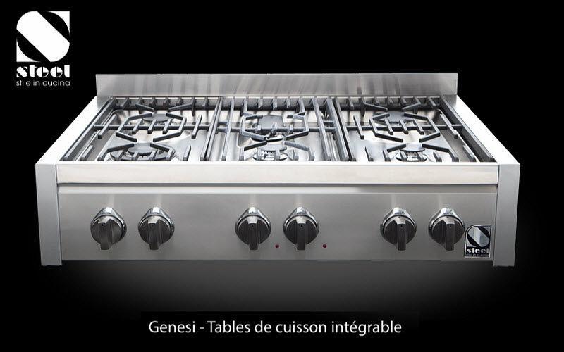 Steel Cucine Placa de cocción Tabla de cocción Equipo de la cocina   |