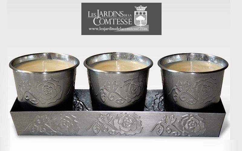 LES JARDINS DE LA COMTESSE Vela Velas & palmatorias Objetos decorativos  |