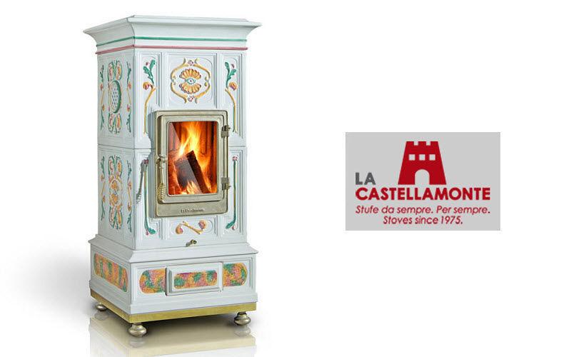 LA CASTELLAMONTE STUFE Estufa de madera Estufas e instalaciones de calefacción Chimenea   