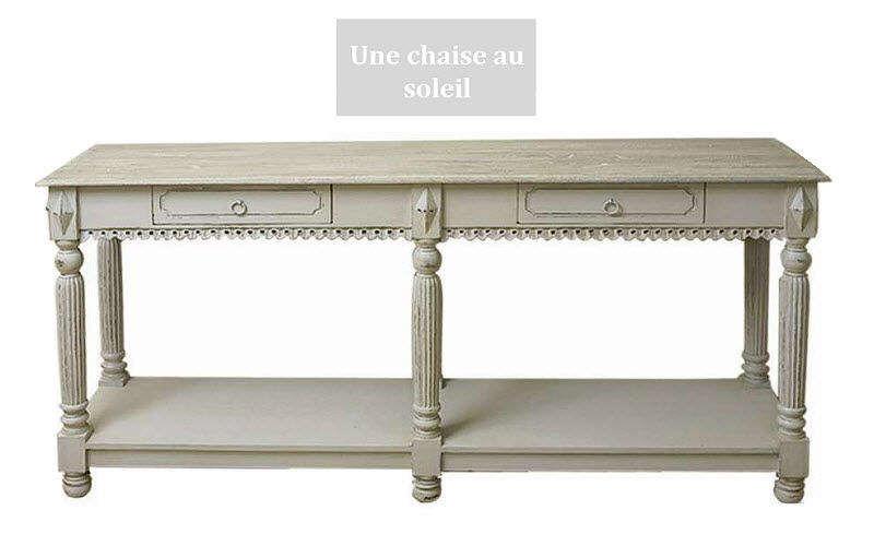Une Chaise Au Soleil Mesa Table de drapier Mesas de comedor & cocina Mesas & diverso  |