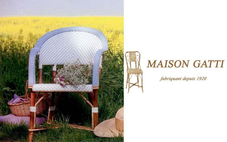 Maison Gatti Sillón de terraza Sillones de exterior Jardín Mobiliario   