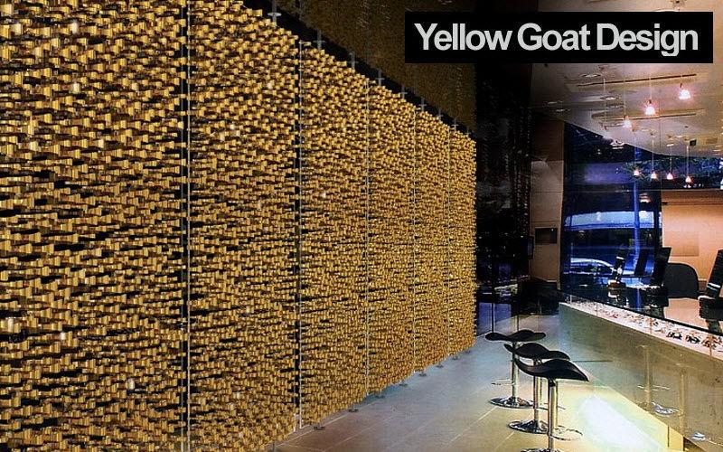 YELLOW GOAT DESIGN Panel separador de habitaciiones Cortinas Tejidos Cortinas Pasamanería  |