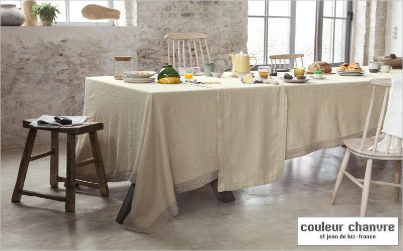 Couleur Chanvre Mantel rectangular Manteles & paños de cocina Ropa de Mesa Comedor   Rústico