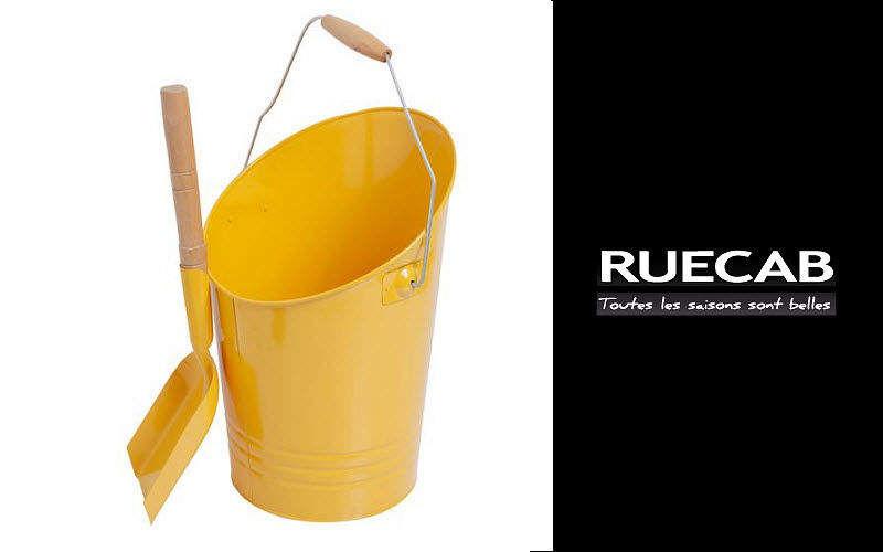 Ruecab Cubo para ceniza Accesorios de chimenea Chimenea  |