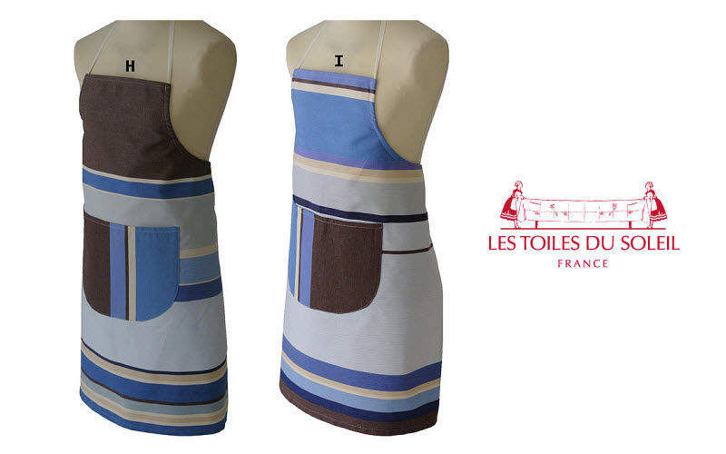 Les Toiles Du Soleil Delantal de cocina Textil Cocina Accesorios  |