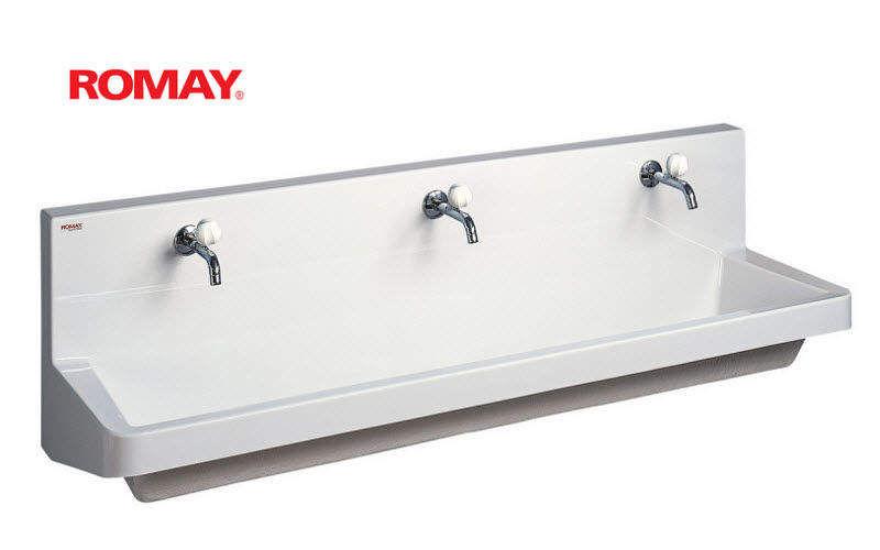 Romay Lavabo colectivo Piletas & lavabos Baño Sanitarios  |